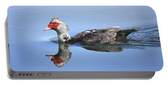 Portable Battery Charger featuring the photograph Ugly Duckling by Penny Meyers