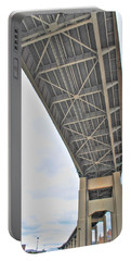 Portable Battery Charger featuring the photograph Under The Skyway by Michael Frank Jr
