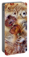 Portable Battery Charger featuring the digital art Unphased And Confused by Casey Kotas
