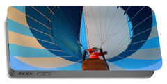 Portable Battery Charger featuring the photograph Up Into The Blue. Oshkosh 2012. by Ausra Huntington nee Paulauskaite