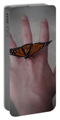 Upon My Hand Portable Battery Charger by Julia Wilcox