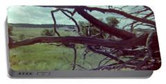 Portable Battery Charger featuring the photograph Uprooted by Bonfire Photography