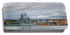 Portable Battery Charger featuring the photograph Uss Little Rock by Michael Frank Jr