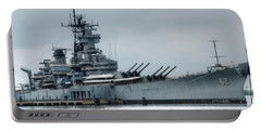 Uss New Jersey Portable Battery Charger