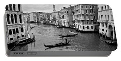 Portable Battery Charger featuring the photograph Venezia by Eric Tressler