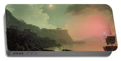 Vesuvius From Posillipo Portable Battery Charger