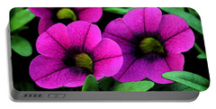 Vibrant Pink Portable Battery Charger