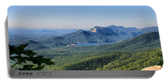 View From Caesar's Head Portable Battery Charger by Lynne Jenkins