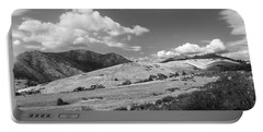Portable Battery Charger featuring the photograph View Into The Mountains by Kathleen Grace