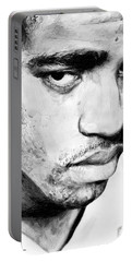 Vince Carter Portable Battery Charger by Tamir Barkan