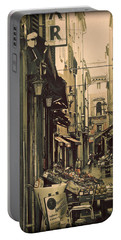 Vintage Bologna Italy Portable Battery Charger