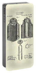 Voltaic Battery 1887 Patent Art Portable Battery Charger
