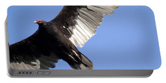Portable Battery Charger featuring the photograph Vulture by Jeannette Hunt