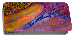 Portable Battery Charger featuring the digital art Waking Up by Richard Laeton