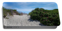Walking Through The Dunes Portable Battery Charger