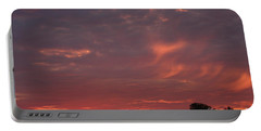 Warwickshire Sunset Portable Battery Charger by Linsey Williams