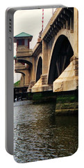 Portable Battery Charger featuring the photograph Washington Bridge by John Scates