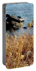 Portable Battery Charger featuring the photograph Watching The Sea 2 by Pedro Cardona