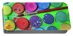 Watercolor Palette Portable Battery Charger