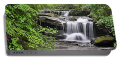 Waterfall Near Mabbitt Spring Portable Battery Charger