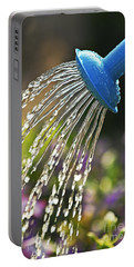 Watering Flowers Portable Battery Charger