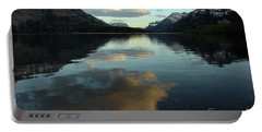 Portable Battery Charger featuring the photograph Waterton Lake Sunset Canada by Vivian Christopher
