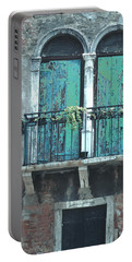 Weathered Venice Porch Portable Battery Charger
