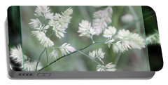 Portable Battery Charger featuring the photograph Weeds by EricaMaxine  Price