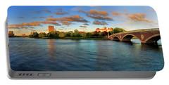Weeks' Bridge Panorama Portable Battery Charger by Rick Berk