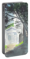 Portable Battery Charger featuring the painting Wellers Carriage House 1 by Yoshiko Mishina
