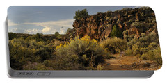 Westward Across The Mesa Portable Battery Charger