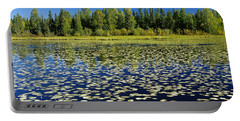 Wetland And Boreal Forest Portable Battery Charger
