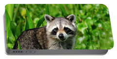 Wetlands Racoon Bandit Portable Battery Charger