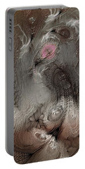 Portable Battery Charger featuring the digital art Whims Within by Casey Kotas