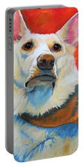 White Shepherd Portable Battery Charger