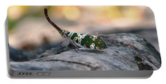 Portable Battery Charger featuring the photograph Why Be Normal? by Nola Lee Kelsey