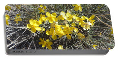 Portable Battery Charger featuring the photograph Wild Desert Flowers by Kume Bryant