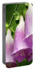 Portable Battery Charger featuring the photograph Wild Foxglove by Albert Seger