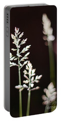 Wild Grass Portable Battery Charger by Andy Prendy