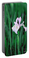 Portable Battery Charger featuring the photograph Wild Iris by Doug Herr