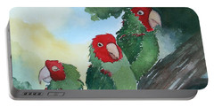 Wild Parrots Of Telegraph Hill Portable Battery Charger