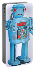Wind-up Robot Portable Battery Charger