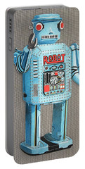 Wind-up Robot 2 Portable Battery Charger