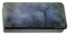 Windmills. Portable Battery Charger