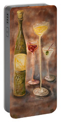 Wine Or Martini? Portable Battery Charger