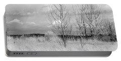 Portable Battery Charger featuring the photograph Winter Bare by Kathleen Grace