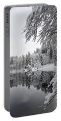 Wintery Reflections Portable Battery Charger