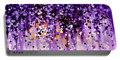 Wisteria Portable Battery Charger by Kume Bryant