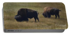 Wyoming Buffalo Portable Battery Charger