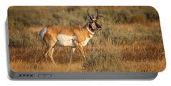 Wyoming Pronghorn Portable Battery Charger